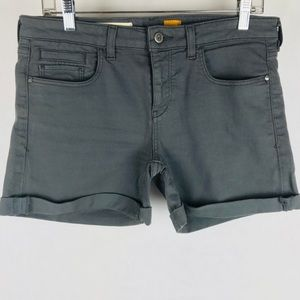 Pilcro and the Letterpress Stet Roll Up Shorts